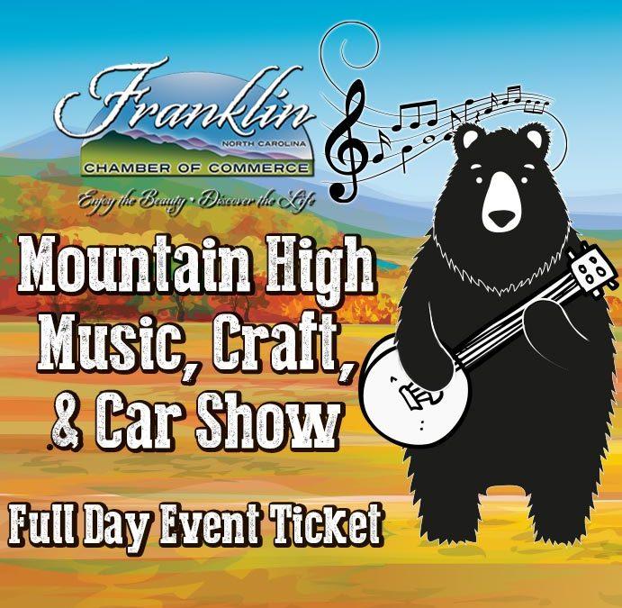 Mountain High Music, Craft & Car Show