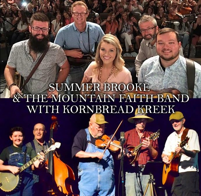 Summer Brook with Kornbread Kreek at the Smoky Mountain Center for the Performing Arts