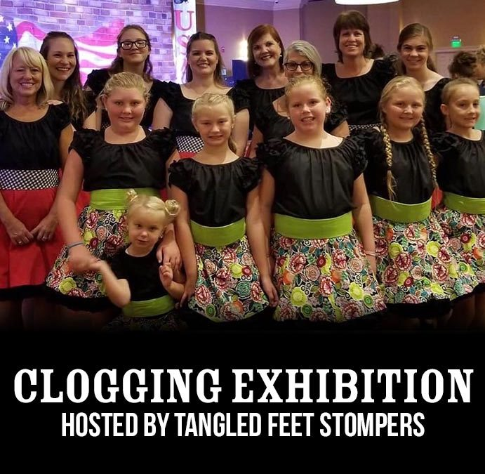 Clogging Exhibition at the Smoky Mountain Center for the Performing Arts